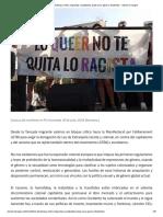 Manifiesto del Bloque crítico migrantas racializades putas sexo-género disidentes –