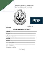 Informe n°5 Presión hidrostática