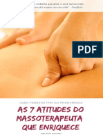 As 7 Atitudes do Massoterapeuta que Enriquece