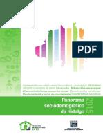 Panorama Socidemocrafico de Hidalgo