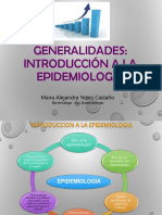 Introduccion a La Epidemiologia Presentacion