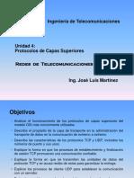 Unidad 4.- Protocolos de Capas Superiores