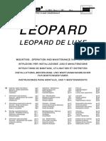 Manuale Di Installazione Ed Uso ~ Leopard [FUORI PRODUZIONE]