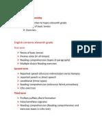 evidencia de cuaderno INGLES  1 PE