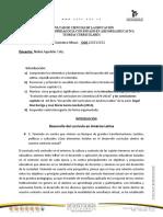 Desarrollo del Curriculum en America Latina.