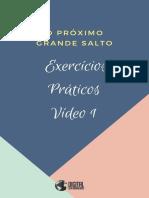 Exercícios práticos  do Vídeo 1