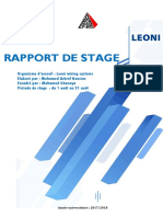 Rapport de Stage Technicien 2017-2018