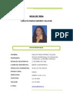HOJA DE VIDA CARLOTA 2021