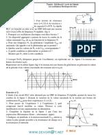 Série d'exercices N°6 - Sciences physiques RLC forcées - Bac Math (2013-2014) Mr BARHOUMI Ezzedine