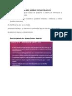 Pasos Para Elaborar Modelo ER Ejemplo y Ejercicio