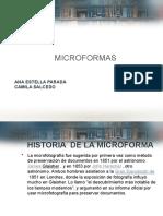 Expocisio de Microformas Para El Lunes
