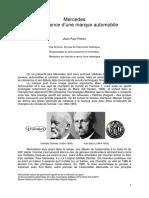 Mercedes La Naissance d'Une Marque Automobile_Jean Paul Potron