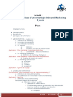1-1 Programme Formation Marketing