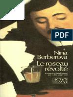Le  roseau revolté Nina Berberova