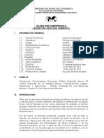 SILABUS DE GEOLOGIA AMBIENTAL
