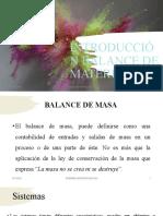Introducción Balance de Materia