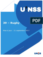 Fiche Sport 2018 Rugby 21 Septembre 2017