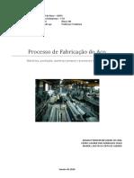 Processo de fabricação do aço