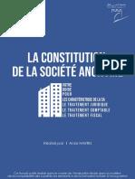 Votre guide pour la constitution dune SA