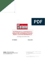 Sondage CSA - Marianne - Candidature de Dominique Strauss-Kahn