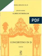 Concertino in D Maultrommel und Madora