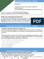 AULA 5 - EXERCÍCIOS RESOLVIDOS - PESSOAS