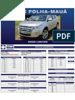 Teste Folha-Mauá - Ford Edge Limited