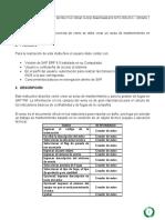 MTO-INS-015 Instructivo Crear Avisos Mantenimiento
