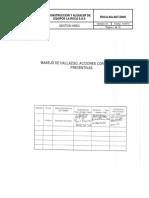 MANEJO DE HALLAZGO, ACCIONES CORRECTIVAS Y PREVENTIVAS VR 01 PDF