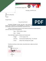 Surat Ijin Sekolah PAJL