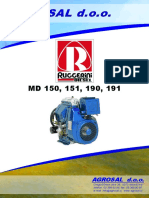 RUGGERINI MD150, MD151, MD190, MD191