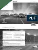 Champions Katalog