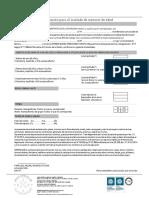 Ficha Medica - Autorización