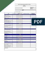 Listas de chequeo de Inspecciones de Seguridad