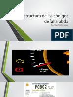 Estructura de Los Códigos de Falla Obd2
