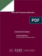 Caso Práctico - Control de Costes. SBCP