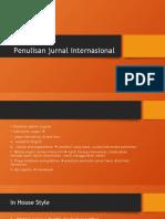 Penulisan jurnal internasional