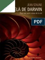 Jean Staune - Au-Delà de Darwin