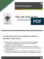 Propuesta plan de Evaluación