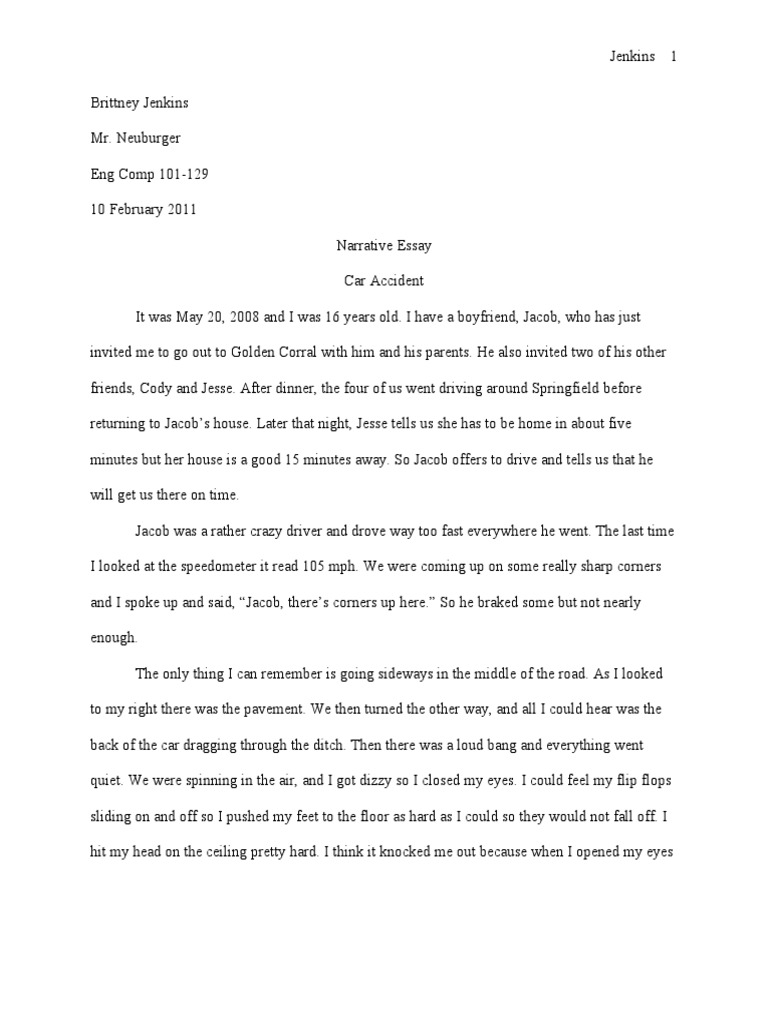 the accident original writing essay Car accident essays - custom essay and research paper writing company -  get  website - order original assignments for me best college essay writing.
