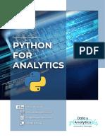 Brochure  Python For Analytics