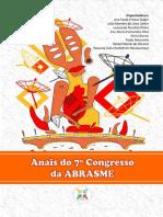 Anais Do 7º Congresso Da ABRASME