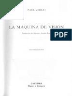 Virilio Paul La Maquina de Vision