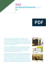 D III Showcase Interface Proposal
