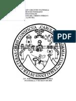 La Actividad Financiera Del Estado de Guatemala- Un Analisis de Los Efectos Financiero en La Recaudación Tributaria