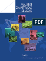 Analisis de la competitividad de Mexico