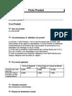 fiche commerciale du Colis Postal