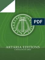 Artaria Editions Catalogue 2021