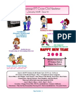 Newsletter 20 - January 2008