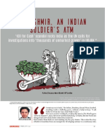 In Kashmir, An Indian Soldier's ATM